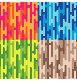 pattern puzzle vector image
