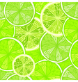 Bright seamless background with limes vector image