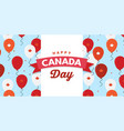 canada day celebration canada independence day vector image vector image