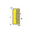 comb icon design vector image
