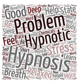 How Hypnosis can help you text background vector image vector image