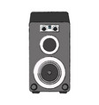 music bass speaker vector image