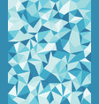 seamless background from cells triangles vector image vector image
