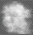 transparent cloud vector image