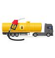 Truck semi trailer concept 05 vector image