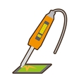 yellow electronic repair hardware pc vector image