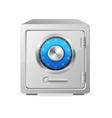 metal safe icon Security concept vector image