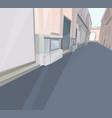 01 Polygonal Street vector image