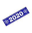 2020 scratched rectangle stamp seal with
