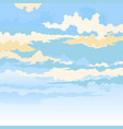 colored clouds behind a mask vector image vector image