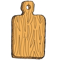 cutting-board vector image vector image
