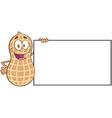 Happy peanut cartoon sticker
