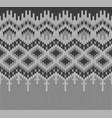 icelandic sweater knitting lopapeysa border vector image vector image