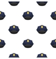 Police cap icon in cartoon style isolated on white vector image