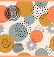 seamless background pattern with abstract vector image vector image