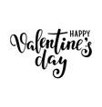 happy valentine s day hand drawn creative vector image