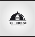 food house - restaurant logo vector image
