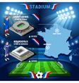 Stade France Bordeaux Stadium vector image vector image