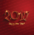 typography happy new year design 0311 vector image vector image