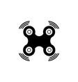 drone logo or icon vector image