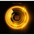 Abstract HUD futuristic background vector image