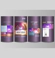 bright color colorful design beautiful futuristic vector image