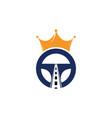 drive king logo design vector image vector image