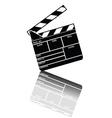 entertainment clapper vector image vector image