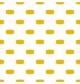 gold coin pattern seamless vector image