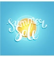 Hello summer summer time vector image vector image