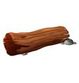 Log design element vector image
