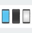 Modern touchscreen cellphone tablet smartphone vector image
