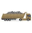 truck semi trailer concept 10 vector image vector image