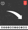 arrow icon - up vector image