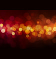 abstract light bokeh background vector image vector image