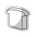 bread icon design vector image