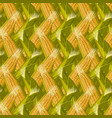 corn maize seamless pattern realistic vector image