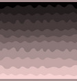 gradient waves seamless pattern pink and black vector image