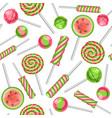 lollipop seamless pattern vector image