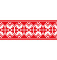 scandinavian national ornament vector image vector image