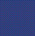 seamless nautical polka dots vector image vector image