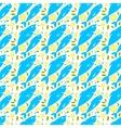 Seamless pattern with fish lemon and herbs vector image vector image