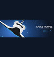 Space travel space shuttle astronomical galaxy