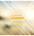 Summer abstract background Summer template poster vector image vector image