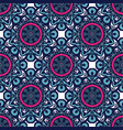 tiled pattern fabric seamless background vector image vector image