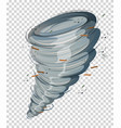 a cyclone on transparent background vector image