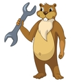 Beaver CREES vector image vector image