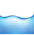 blue water wave vector image
