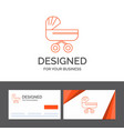 business logo template for trolly baby kids push vector image