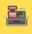 cashbox icon set of great flat icons use for vector image